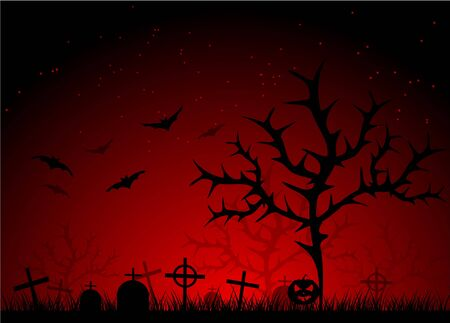 dark scary abstract halloween background.  Vector