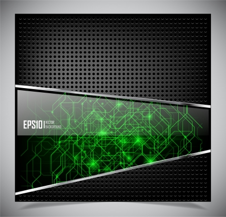 illustration of futuristic abstract glowing background Vector