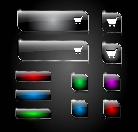 Set of buttons for web Stock Photo - 14648157