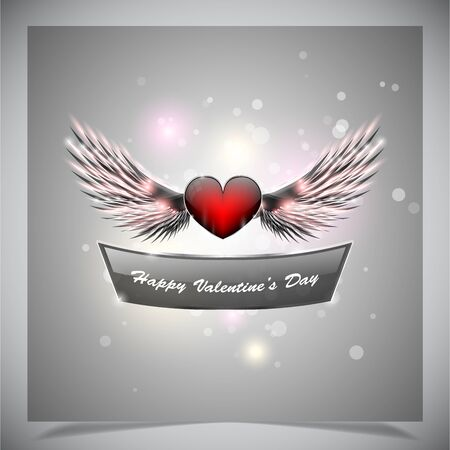 Abstract valentine days background Vector