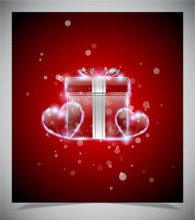 st valentins day: Giorni Valentine astratti sfondo, vettore illustratione eps 10 Vettoriali