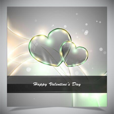 st valentin's day: Abstract valentine days background, vector illustratione eps 10
