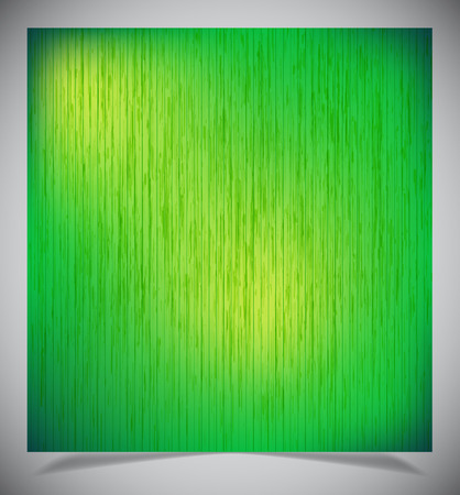 dull: Abstract old green wood background, Vector illustration.
