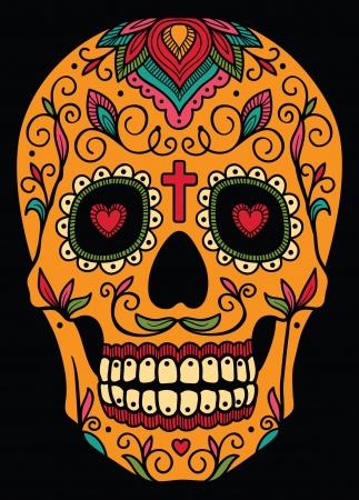 Mexicaanse suiker schedel