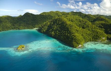 micronesia: Aerial Shot of Micronesian Islands