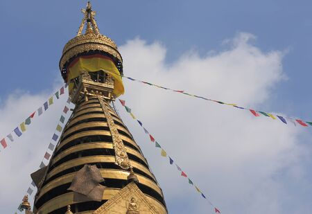 toran: The Stupa of Swayambhunath