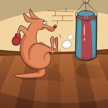 Funny animals playactive sports.