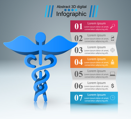 Business Infographics origami style Vector illustration. Infographic icon.