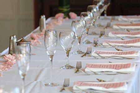 untitled key: Table setting at wedding