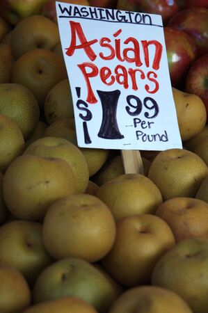 Asian Pears Stock Photo - 583210