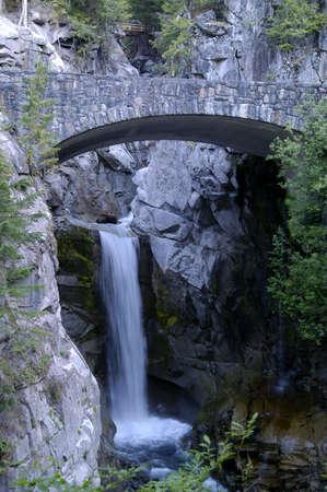untitled key: Mountain waterfall