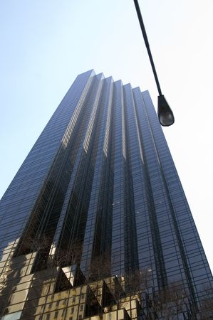 High rise building in New York photo