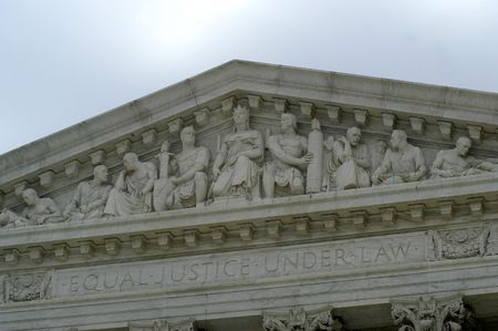 supreme court: Supreme Court building details Stock Photo