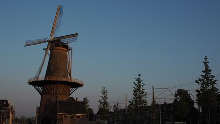 Windmill in Delft