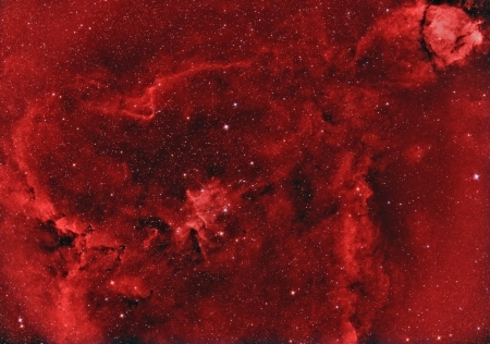 emission nebula  photo