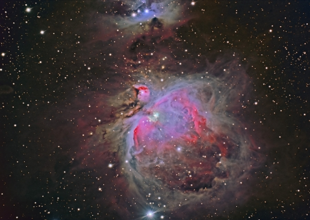 orion: M42 Great Orion Nebula