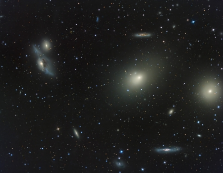 messier: Virgo Cluster of galaxies