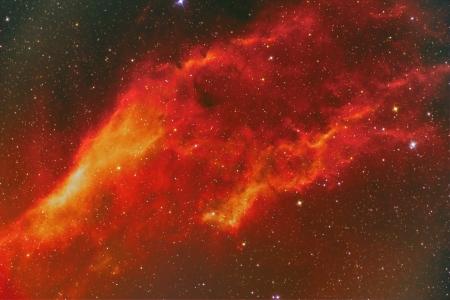 NGC 1499 California Nebula Stock Photo