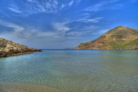 mani: Bay at Mani, Greece