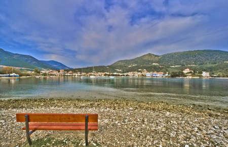 Harbour of Epidaurus in Greece Stock Photo