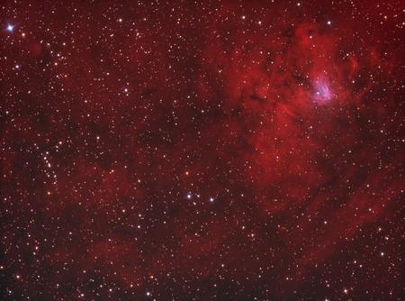 NGC1491 galactic hydrogen nebula