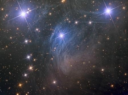 M45 Pleiades seven sisters