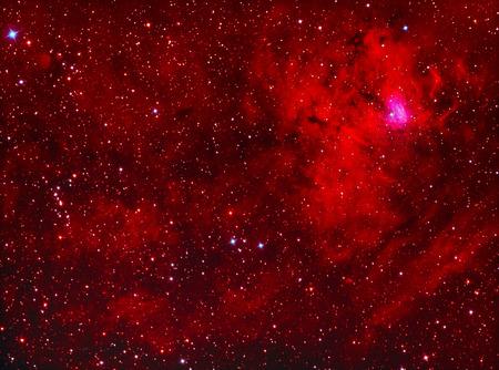NGC1491 emission nebula in perseus