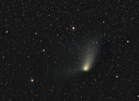 Comet Panstarrs Stock Photo