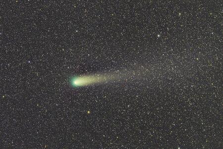 La comète Giacobini-Zinner Banque d'images