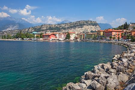 Torbole on Lake Garda Archivio Fotografico