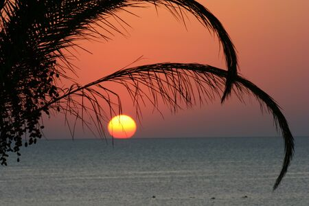 Sunrise over the sea Zdjęcie Seryjne