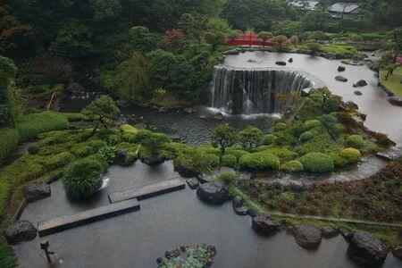 japanese garden Zdjęcie Seryjne