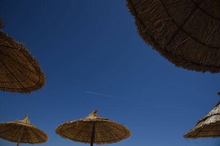 beach umbrellas Zdjęcie Seryjne
