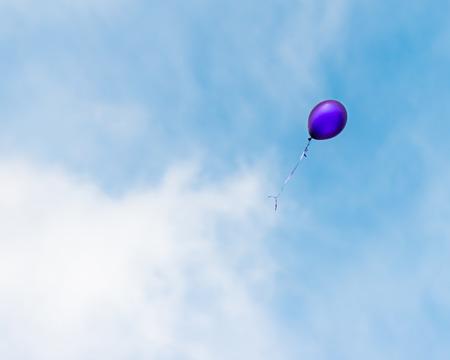 空と雲に浮かんでバルーン