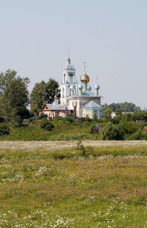 Land tempel Stockfoto