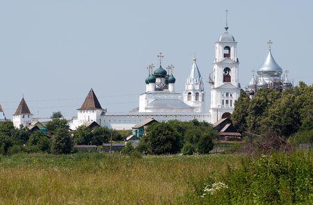 reverential: Vintage monastero, Pereslavl'-Zalesskiy, la Russia