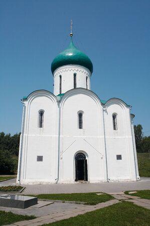 Vintage church, Pereslavl-Zalesskiy, Russia Stock Photo