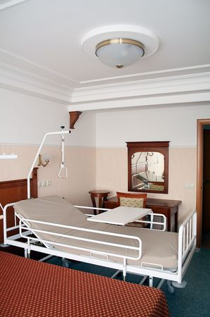 Room in geriatric and nursing home