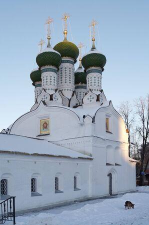 assumption: Temple of assumption Mother of God on mountain Nikolina, Nizhniy Novgorod
