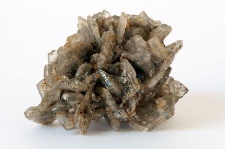 Druze of gypsum crystals from Kara-Kum desert, Turkmenistan photo