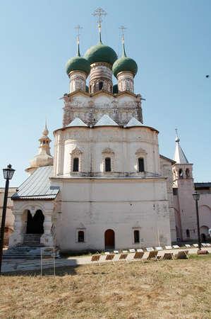reverential: Vecchia cittadella a Rostov-Velikiy, la Russia