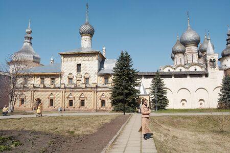 reverential: Vecchia chiesa in Rostov-Velikiy, Russia Archivio Fotografico