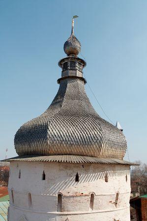 Oude toren in Rostov-Velikiy, Rusland