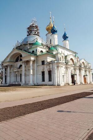 reverential: Antico monastero a Rostov-Velikiy, la Russia Archivio Fotografico
