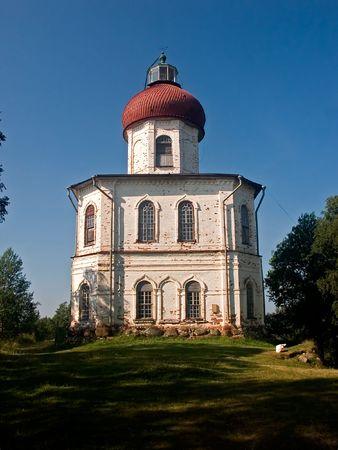 Chapel-lighthouse on Solovki, White Sea, Russia Stock Photo