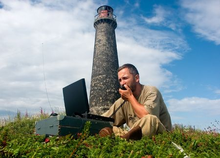 amateur: DXpedition en las islas de Topy, mar blanco