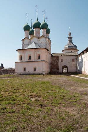 the citadel: Vecchia cittadella di Rostov-Velikiy, la Russia  Archivio Fotografico