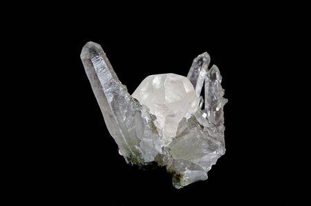 Druze van kristallen calcyte, kwarts uit Arnenia