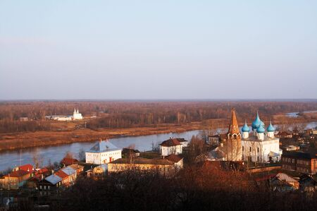 reverential: Paese Gorokhovets nel tempio, la Russia