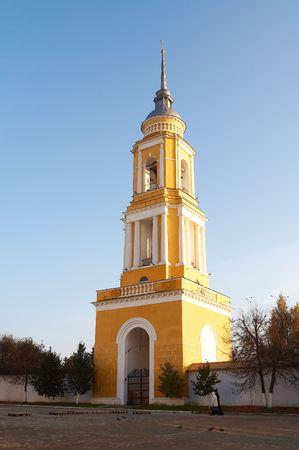 Oude belfort in Kolomna citadel, Rusland